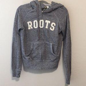 Roots Canada Heather Gray Sweatshirt